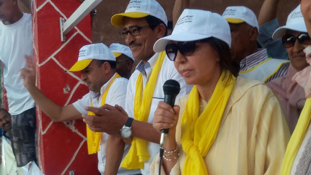 بحضور حليمة العسالي….الألاف يخرجون في خنيفرة لدعم مرشح الحركة الشعبية+ الصور