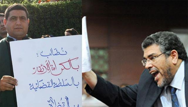 حجيب: الهيني ليس عمر بنحماد أو فاطمة النجار. اننا نخشى من اخونة مهمة الدفاع عن حقوق الانسان