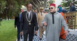 زيارة  الملك محمد السادس شرف عظيم لرواندا