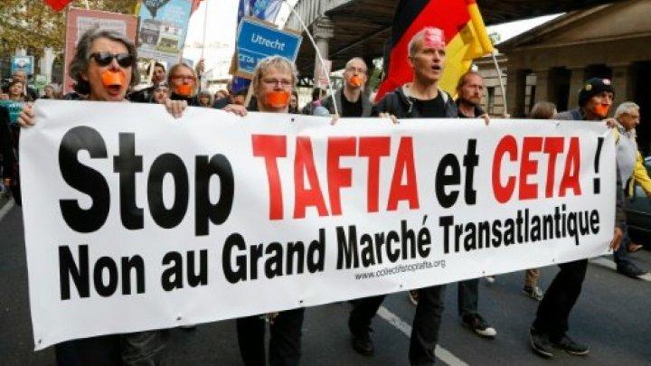 بلجيكا لا تستطيع توقيع معاهدة التبادل الحر مع كندا