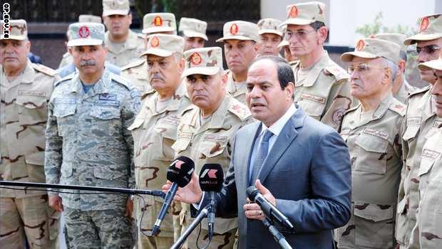السيسي يلجأ الى الجيش للمساعدة في حل مشكلات مصر الاقتصادية