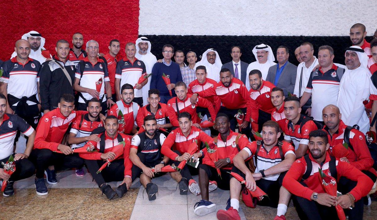 بالصور: الفتح الرباطي يصل دبي استعدادًا للسوبر الإماراتي المغربي