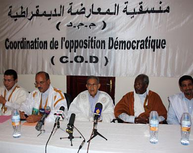 المعارضة الموريتانية تهدد بمقاطعة الحوار السياسي