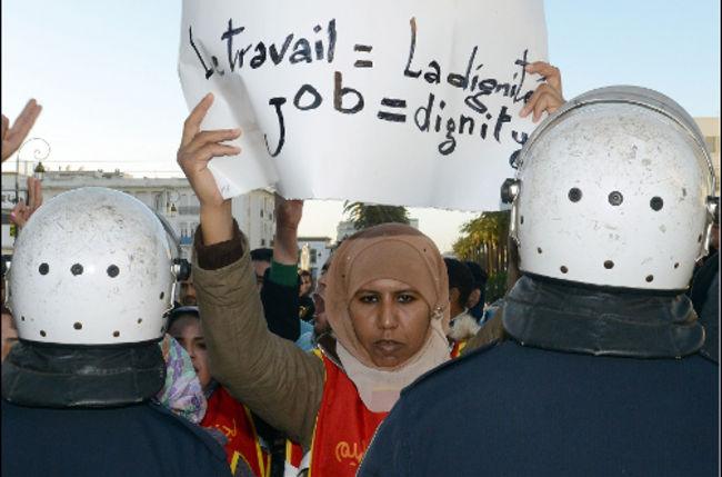 البطالة ارتفعت بالمغرب فوق حاجز 10 في المئة