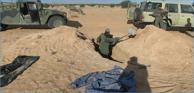 وزارة الداخلية: الكشف عن مخزن أسلحة