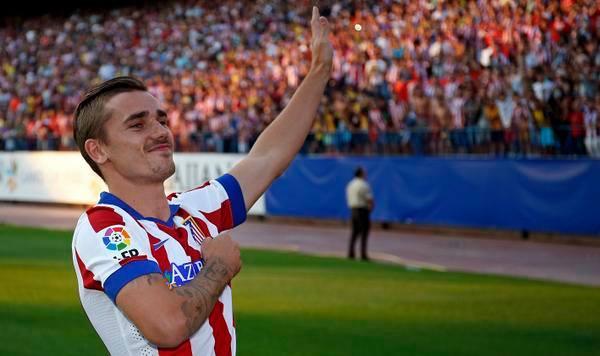 أتليتيكو يؤكد عدم إصابة جريزمان بكسر في القدم