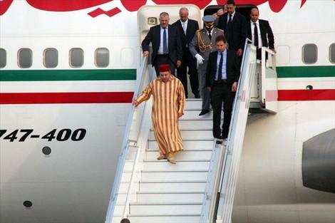 الملك محمد السادس يعود إلى المغرب في ختام جولة شملت عدة دول إفريقية