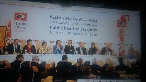 غضب ودموع واسئلة في اول جلسة استماع علنية لضحايا الاستبداد في تونس