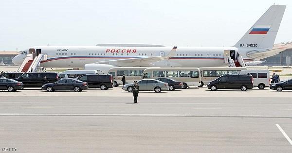 خطير: مقاتلات سويسرية تطارد طائرة فلاديمير بوتن الرئاسية بها صحافييين