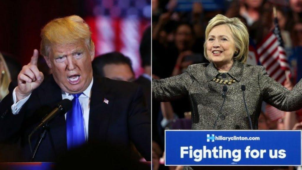 احتدام المنافسة بين كلينتون وترامب قبل ساعات من نهاية حملتيهما الانتخابية