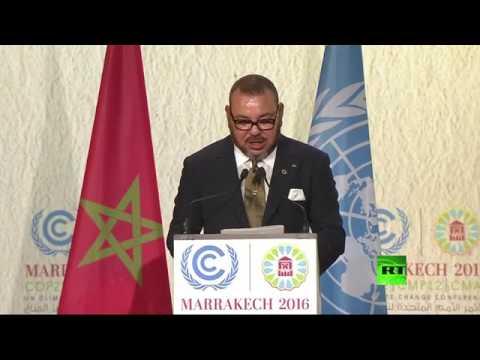 بالفيديو: كلمة الملك محمد السادس في افتتاح قمة المناخ