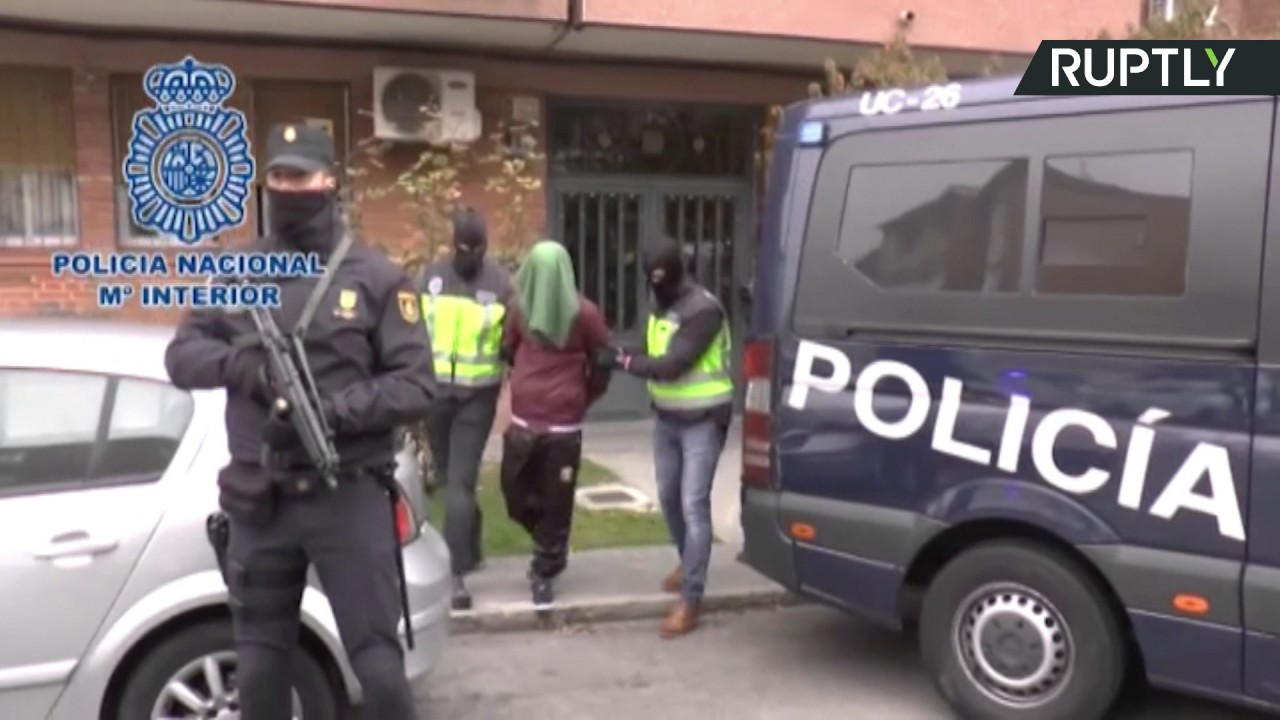 """اعتقال شخصين في إسبانيا مشتبه بعلاقتهما مع تنظيم """"داعش"""""""