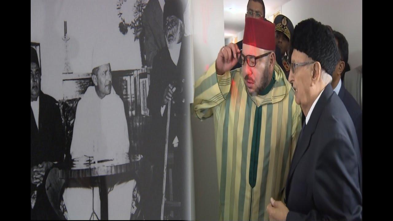 شاهد:الملك محمد السادس يزور الفندق التاريخي الذي أقام فيه الراحل محمد الخامس سنة 1954 بمدغشقر