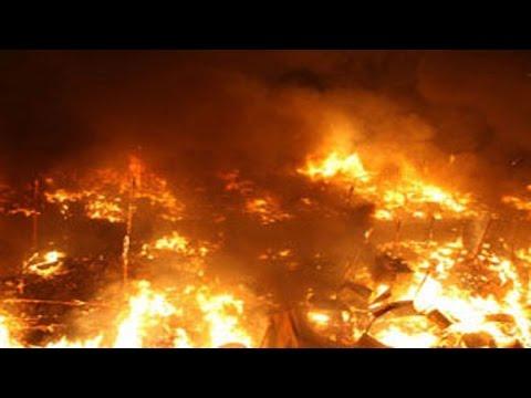 شاهد: اسرائيل تحترق