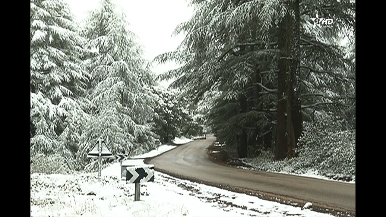 اولى الثلوج بافران