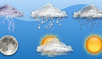 الطقس يوم الاربعاء