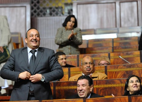 البرلماني الحركي الأعرج لباغي يولي وزير…بدل صفحته الفيسبوكية بفندقه