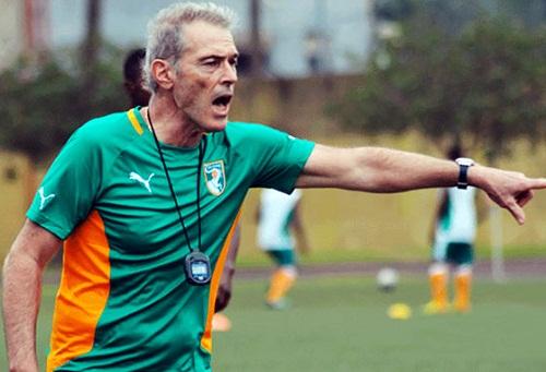 """مدرب المنتخب الإيفواري: المباراة ضد المنتخب المغربي ستقام تحت """"ضغط كبير"""""""