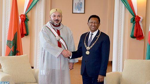 الديبلوماسية الملكية  تبوئ  المغرب موقع ريادي على الصعيد الافريقي