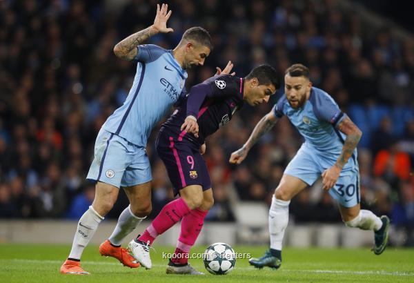 مانشستر سيتي يثأر من برشلونة بالثلاثة