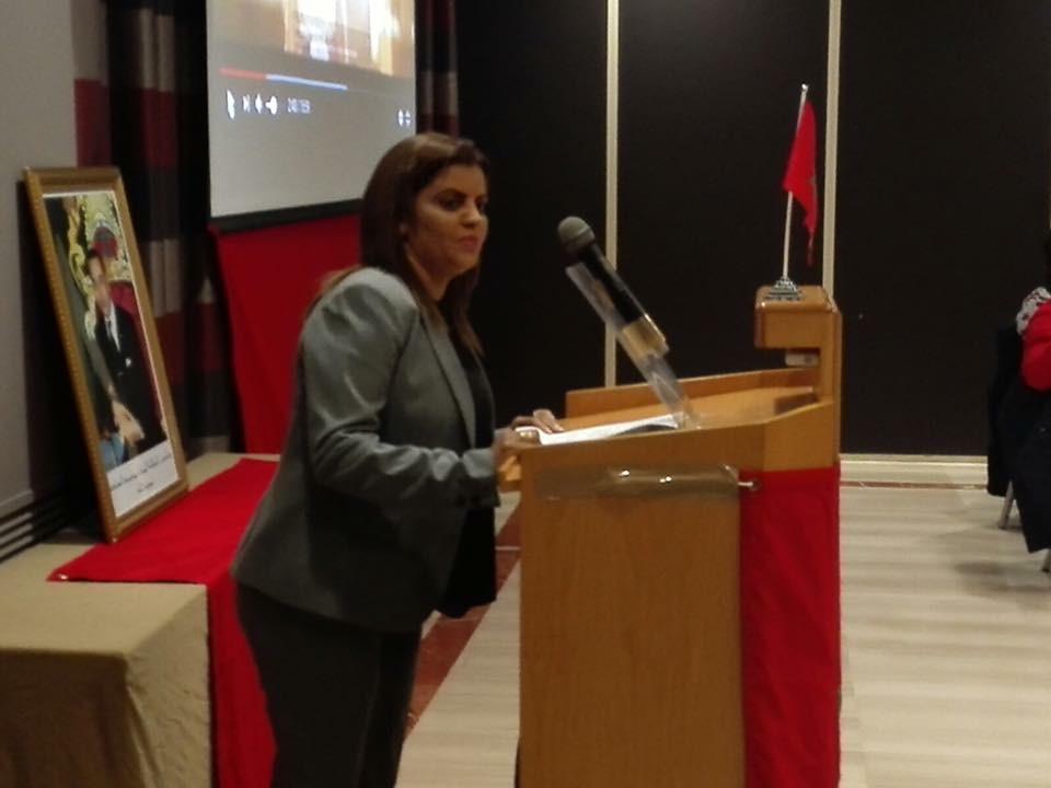 عائشة الكورجي تطلق عريضة لجمع التوقيعات بإسبانيا من أجل مقترح الحكم الذاتي بالصحراء
