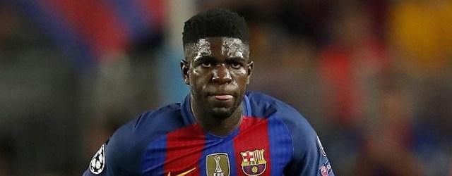الاصابة تبعد المدافع أومتيتي 3 أسابيع على برشلونة