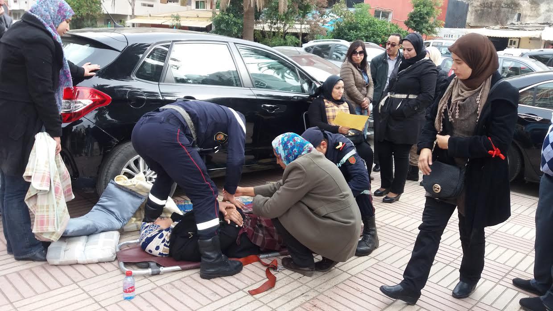 خطير: مدير التعاون الوطني يقمع احتجاج المتصرفين في اعتصام  انذاري