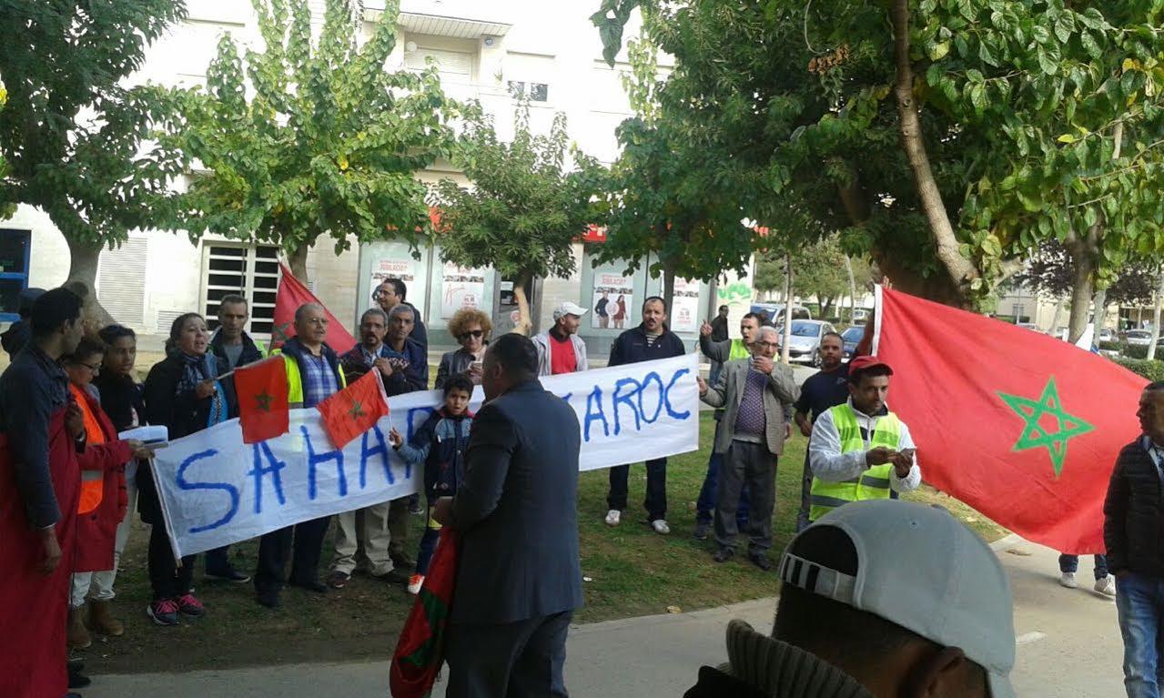 ندوة  EUCOCO باسبانيا : حرج  بسبب هروب زعيم البوليساريو، واحتجاجات عارمة للوحدويين أمام مقرها