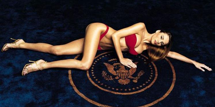 """زوجة ترامب ميلانيا سيدة أمريكا الأولى صاحبة """"الأثداء الكبيرة"""" والصور العارية"""
