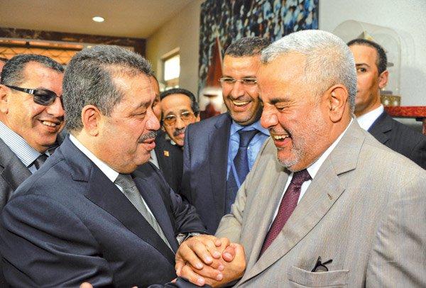 أخنوش يطالب بن كيران بإبعاد شباط من الحكومة