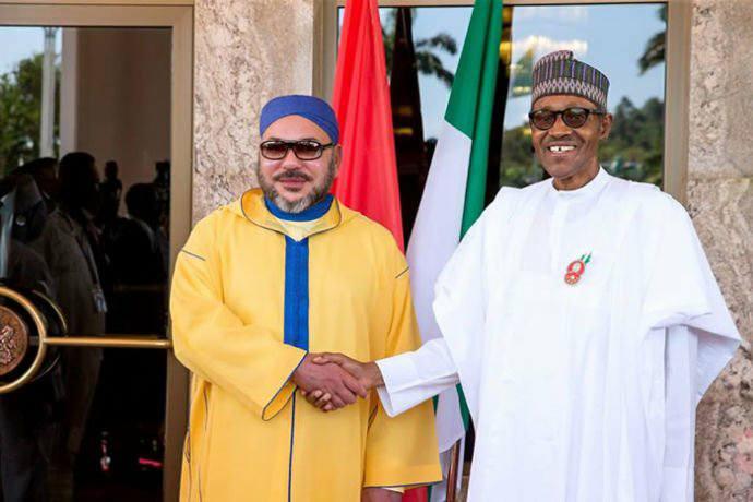 بالصور: استقبال كبير للملك محمد السادس بنيجيريا