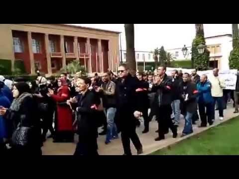 وقفة ومسيرة للمحاسبين أمام البرلمان