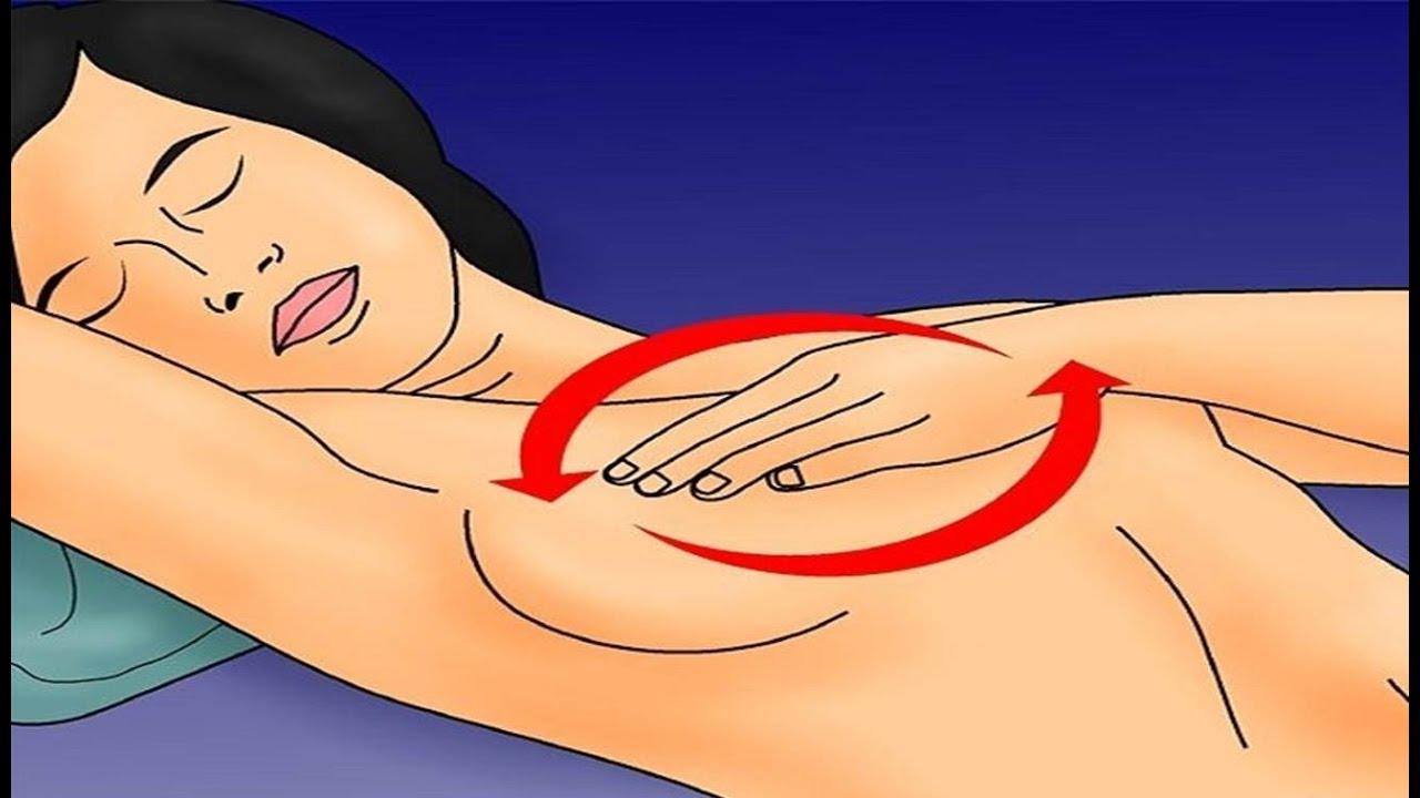 الطريقه المثاليَّة لتدليك الثدي