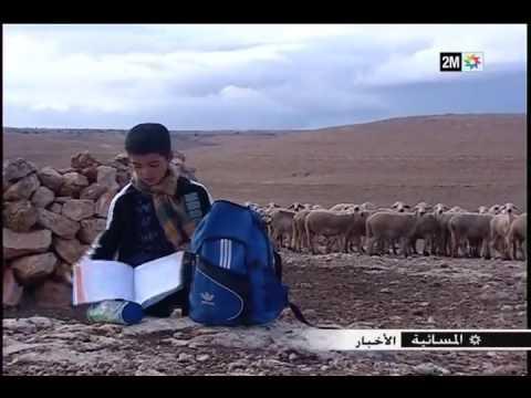 شاهد::بالرغم من ظروفه الصعبة الطفل محمد يتحدى والده للعودة لمقاعد الدراسة