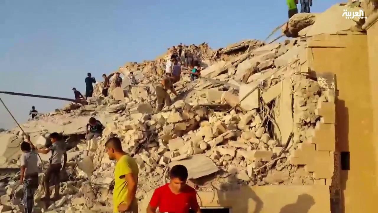 داعش دمر 67 مسجدا في الموصل و37 آخرين تضرروا