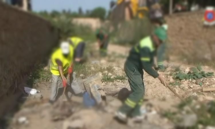 كابران بالانعاش يعتدي بالضرب والجرح على أحد عمال الانعاش